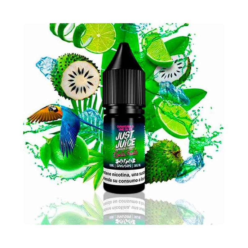 Just Juice 50/50 Exotic Fruits Guanabana & Lime On Ice 10ml