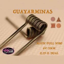 Resistencia Guayarminas (2pcs) - Lady Coils