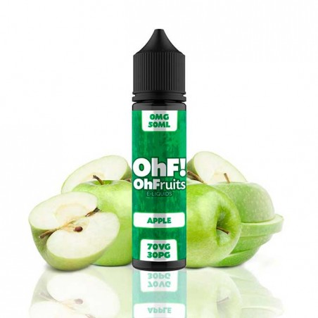 OhFruits E-Liquids Apple 50ml