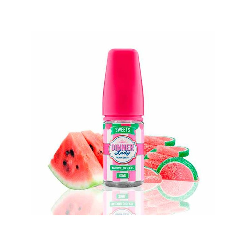 Aroma Watermelon Slices 30ml - Dinner Lady Sweets