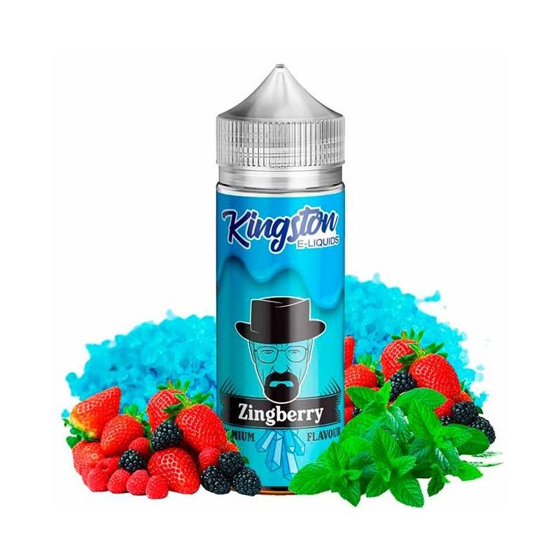 Zingberry Fizzy 100ml - Kingston E-liquids