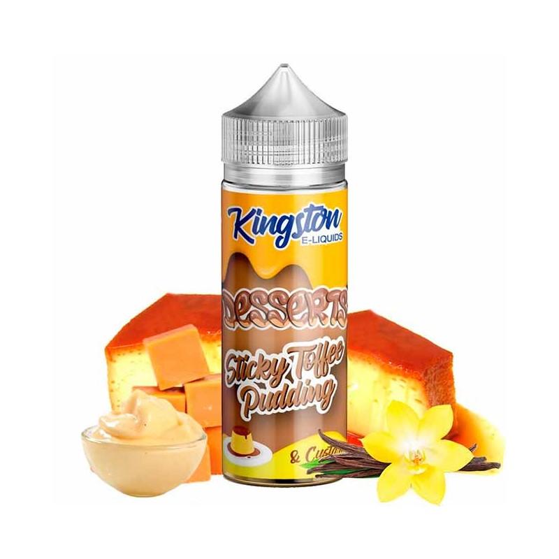 Sticky Toffee 100ml - Kingston E-liquids