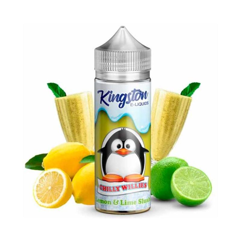 Lemon & Lime Slush 100ml - Kingston E-liquids