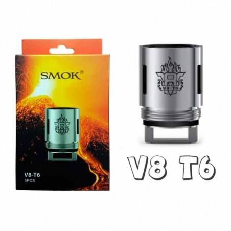 RESISTENCIA SMOK TFV8 V8-T6 (3 UDS)