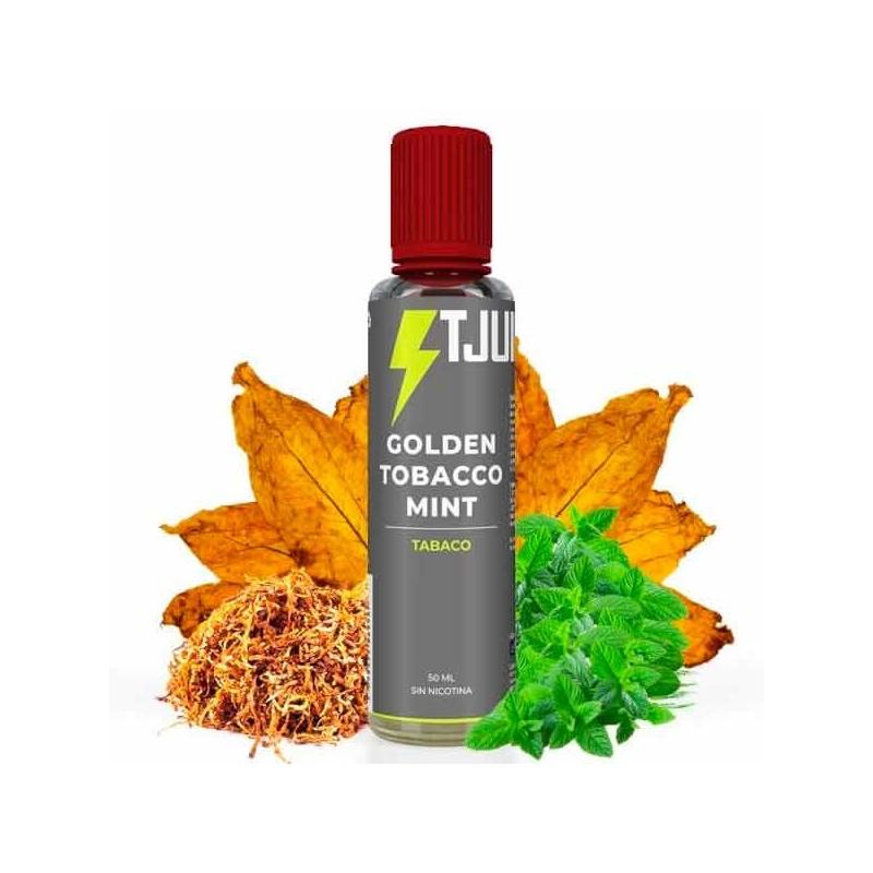 Golden Tobacco Mint 50ml - T-Juice
