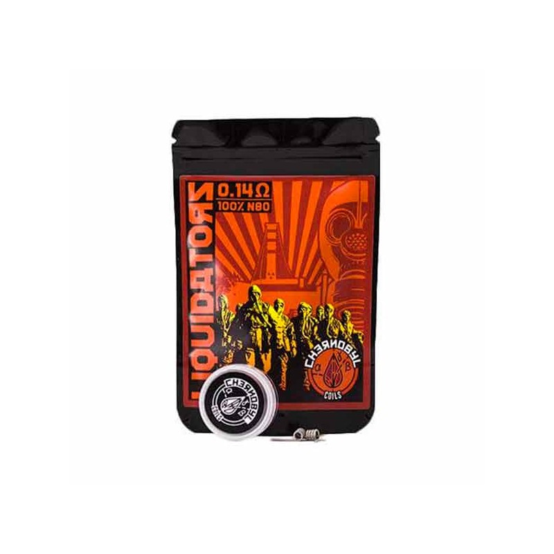 Chernobyl Coils Liquidators 0.14 Ohm (Pack 2)