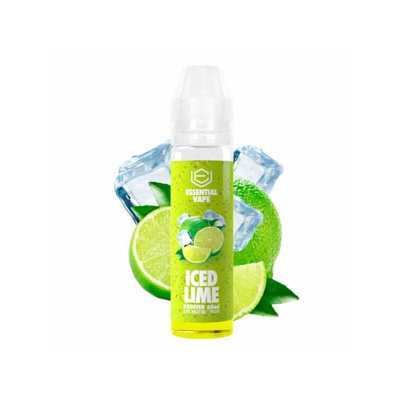 Iced Lime 50ml - Essential Vape by Bombo