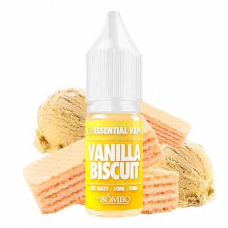 Vanilla Biscuit 10ml - Essential Vape Nic Salts by Bombo