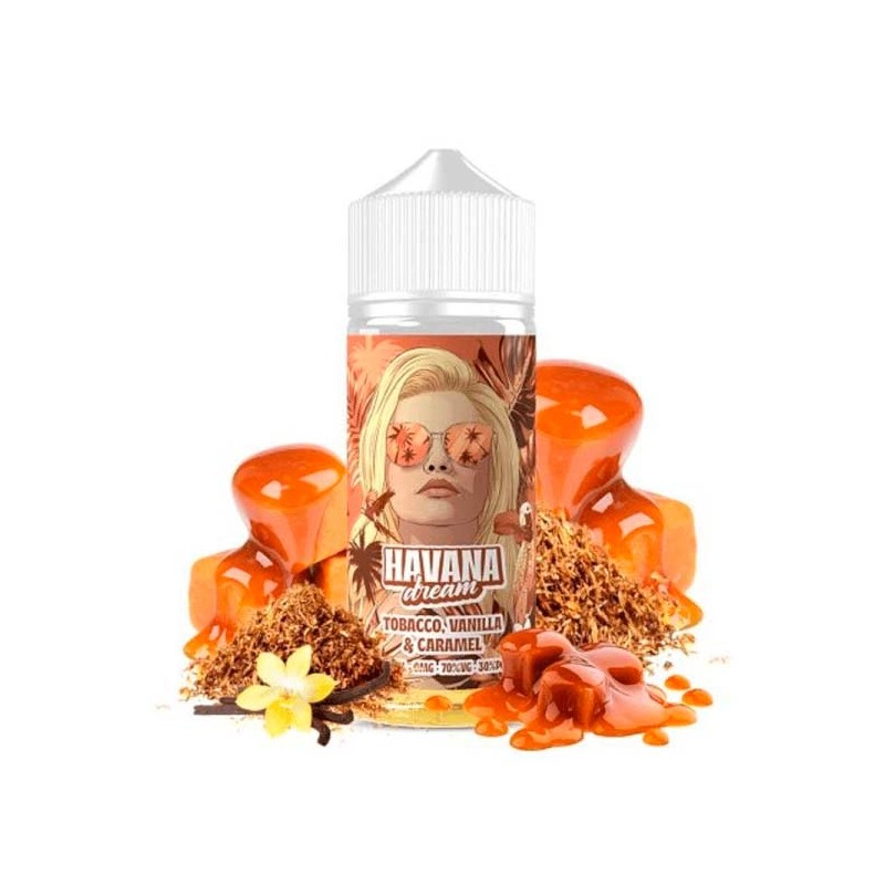 Tobacco, Vanilla & Caramel 100ml - Havana Dream