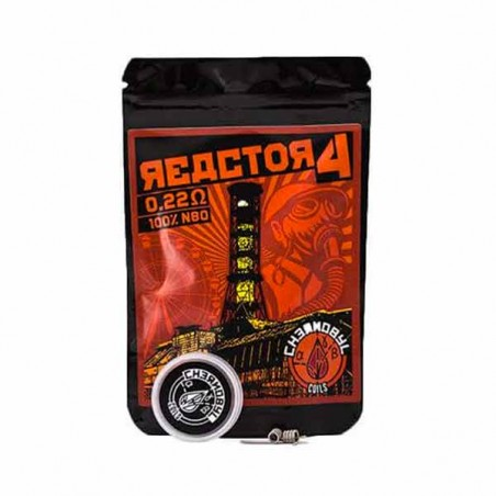 Chernobyl Coils Reactor 4 0.22 Ohm (Pack 2)