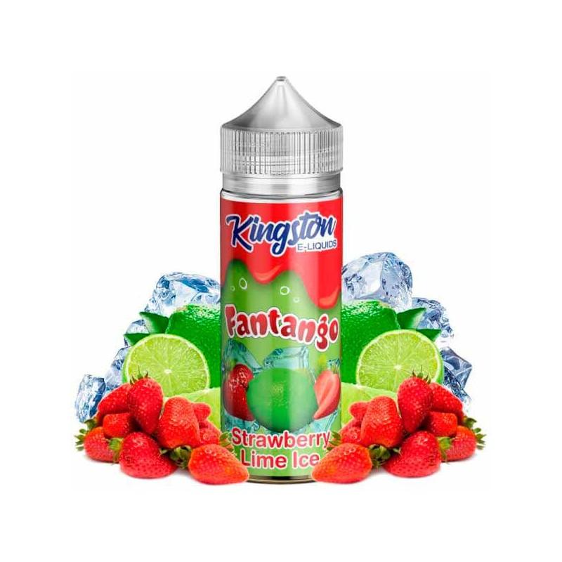 Strawberry Lime Ice 100ml - Kingston E-liquids