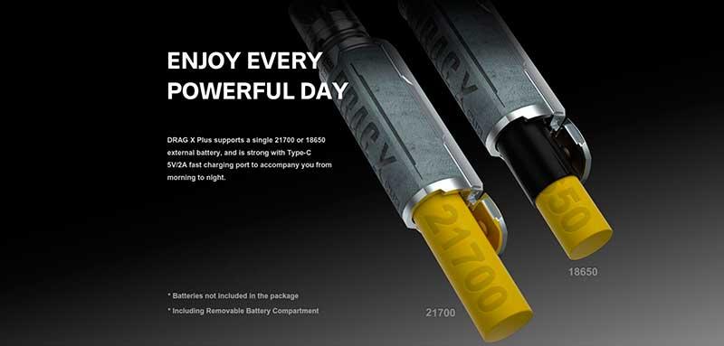 Bateria 18650 o 21700